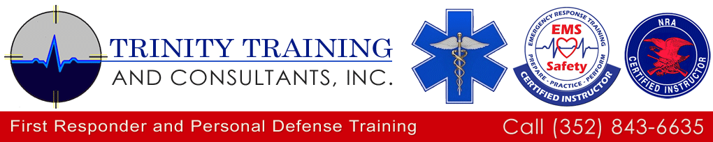 Welcome to Trinity Training and Consultants, Inc., an Ocala, Florida based EMS, fire rescue, law enforcement, self defense, and firearms safety training company.