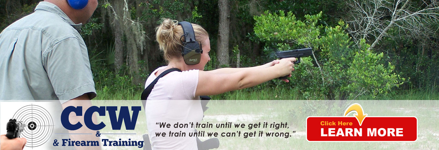 Concealed Weapons and Firearms Training Classes