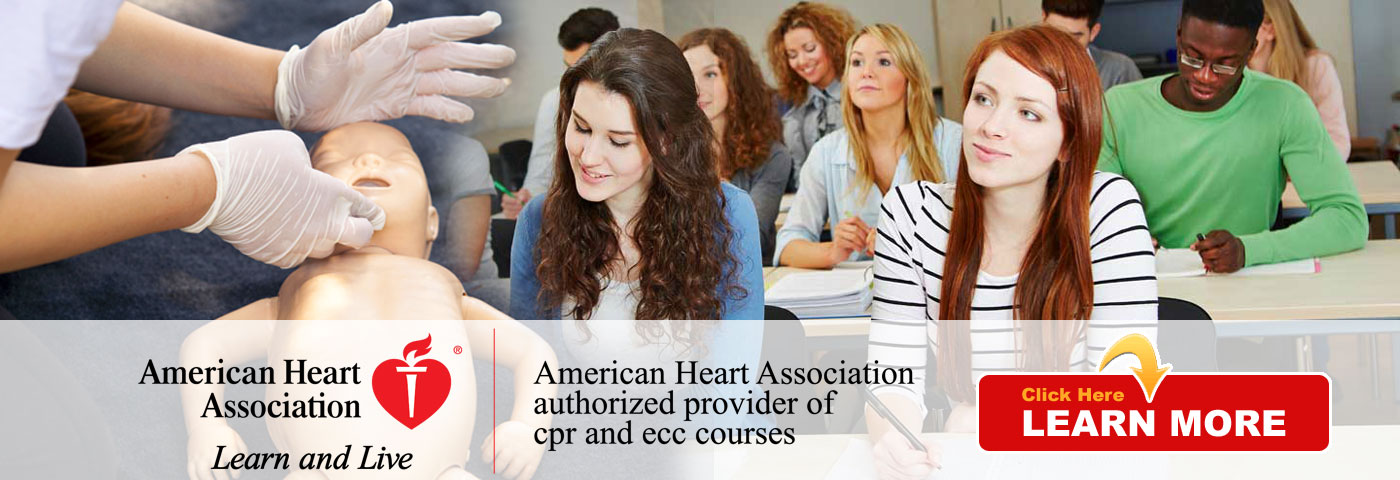 Trinity Training & Consultants is an American Heart Association authorized provider of CPR and ECC courses - click here to LEARN MORE