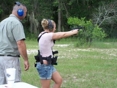 Women's Firearms Training in Ocala