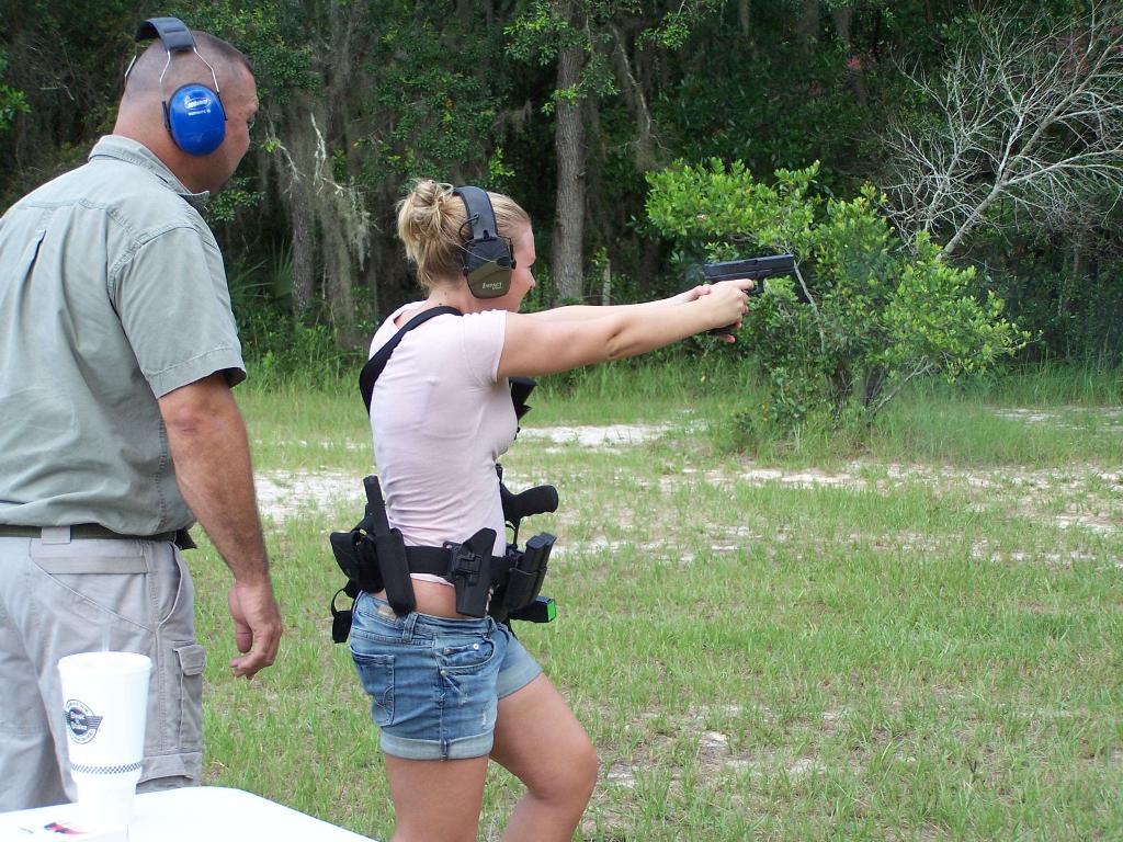 Women's Firearms Training in Ocala
