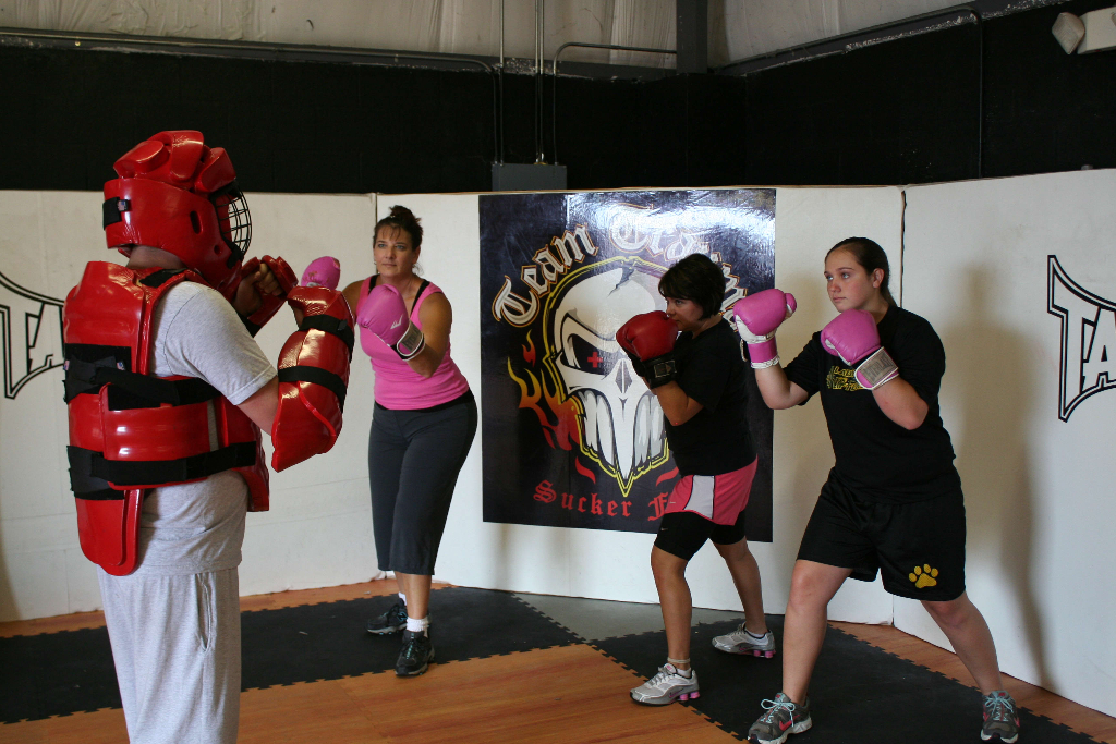 Ocala Women's Self Defense Training - Boxing Class